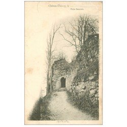 carte postale ancienne 02 CHATEAU-THIERRY. 1902 Porte Beauvais