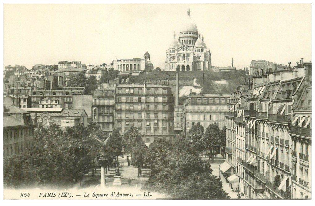 PARIS 09. Le Square d'Anvers