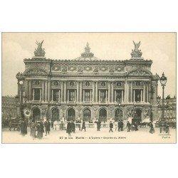 PARIS 09. L'Opéra et Entrée du Métro