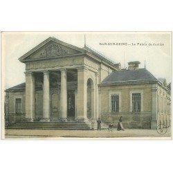 carte postale ancienne 10 BAR-SUR-SEINE. Le Palais de Justice