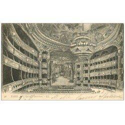 PARIS 09. L'Opéra intérieur 1903