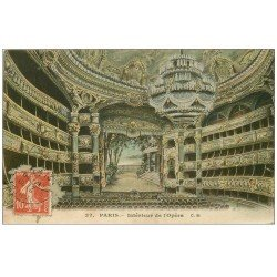 PARIS 09. L'Opéra intérieur 1908