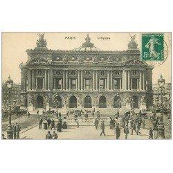 PARIS 09. L'Opéra, Métro 1910