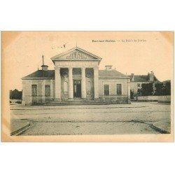 carte postale ancienne 10 BAR-SUR-SEINE. Le Palais de Justice 1904
