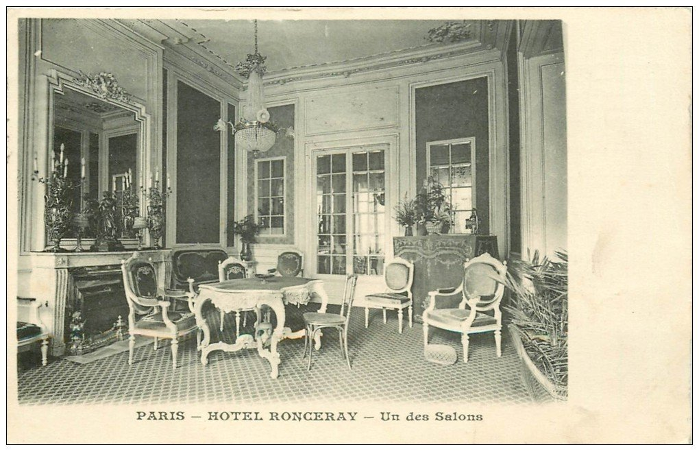 Paris 09 salon h tel ronceray for Salon carte postale