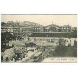 carte postale ancienne PARIS 10. Gare de l'Est L.D