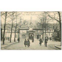 carte postale ancienne PARIS 10. Hôpital Saint-Louis Avenue Richerand 1903