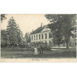 carte postale ancienne 10 BRANTIGNY. Le Château 1918