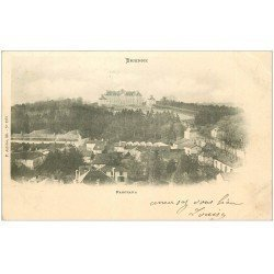 carte postale ancienne 10 BRIENNE. Panorama 1903