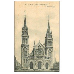 carte postale ancienne PARIS 11. Eglise Saint-Ambroise 732
