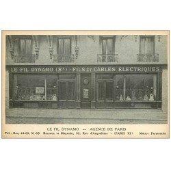 PARIS 11. Magasin Le Fil Dynamo 52 rue d'Angoulême