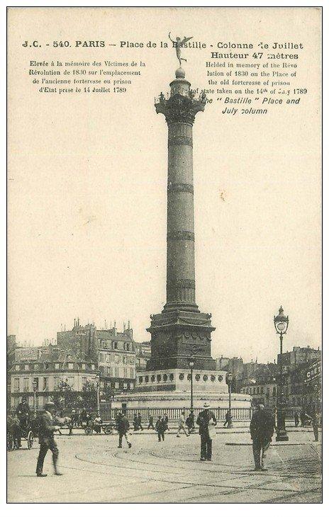 PARIS 11. Place de la Bastille