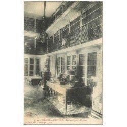 carte postale ancienne 10 BRIENNE-LE-CHATEAU. Bibliothèque du Château 1905