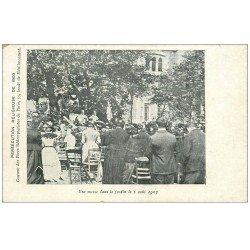 PARIS 11. Une Messe 55 Boulevard de Ménilmontant 1903. Persécution religieuse