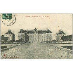 carte postale ancienne 10 BRIENNE-LE-CHATEAU. Façade du Château 1909