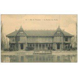 carte postale ancienne PARIS 12. Bois Vincennes. Le Pavillon des Forêts