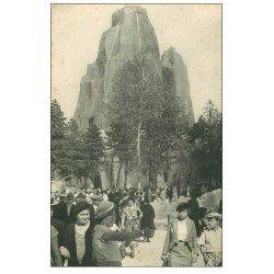 carte postale ancienne PARIS 12. Bois Vincennes. Le Rocher Parc Zoologique