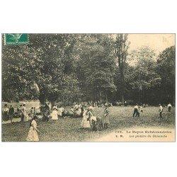 carte postale ancienne PARIS 12. Bois Vincennes. Plaisirs du Dimanche