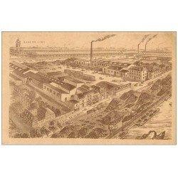carte postale ancienne PARIS 12. Charbons Breton Quai de la Rapée. Carte très fine...
