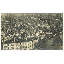 carte postale ancienne PARIS 12. Gare de Vincennes Quartier Saint-antoine