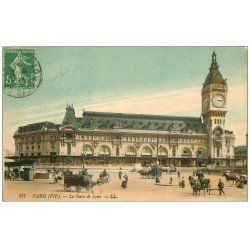 PARIS 12. La Gare de Lyon 1913