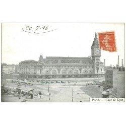 PARIS 12. La Gare de Lyon 1916