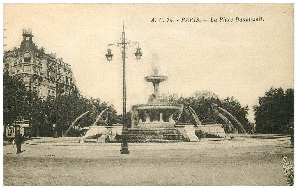 Paris 12 la place daumesnil - La poste daumesnil ...