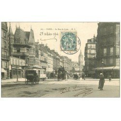 PARIS 12. La Rue de Lyon 1904