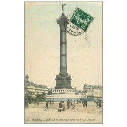 PARIS 12. Place de la Bastille 1908
