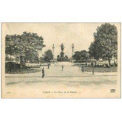 PARIS 12. Place de la Nation
