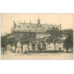 carte postale ancienne PARIS 13. La Mairie du XIII° arrondissement vers 1900