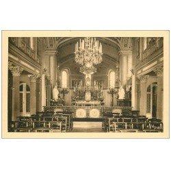 carte postale ancienne PARIS 13. Maison Augustines rue de la Santé. Chapelle