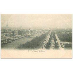 carte postale ancienne PARIS 13. Panorama vers 1900