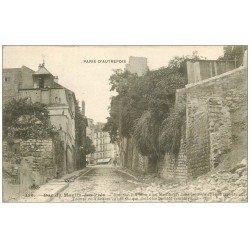 carte postale ancienne PARIS 13. Rue du Moulin-des-Prés