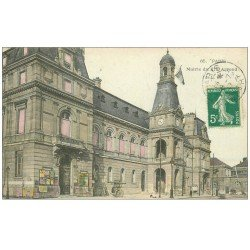 carte postale ancienne PARIS 14. La Mairie 1910