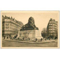 PARIS 14. Le Lion de Belfort 1931 Pharmacie Bouloy