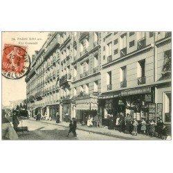 carte postale ancienne PARIS 14. Magasin de Cartes Postales rue Gassendi 1909 Je Sais Tout