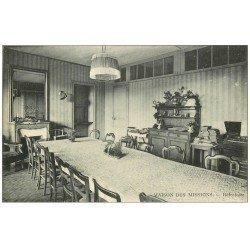 carte postale ancienne PARIS 14. Maison des Missions 102 Boulevard Arago. Réfectoire