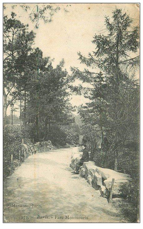 PARIS 14. Parc Montsouris 1904