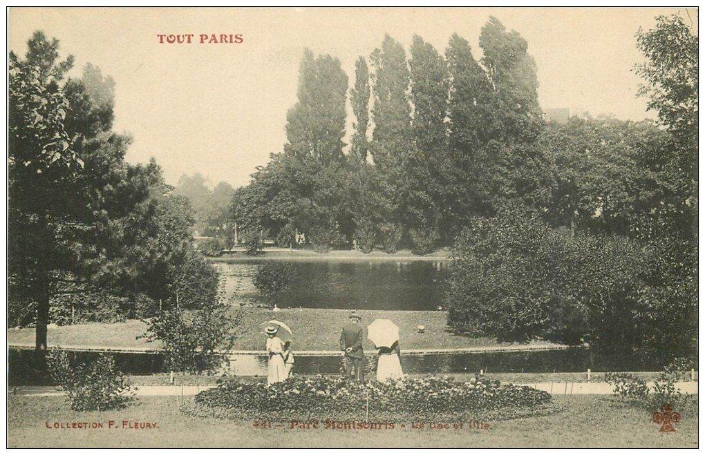 PARIS 14. Parc Montsouris Lac et Île animation