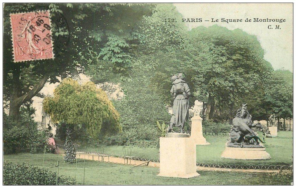 PARIS 14. Square de Montrouge 1905