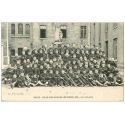 carte postale ancienne PARIS 15. Asile Jeunes Infirmes 223 rue Lecourbe