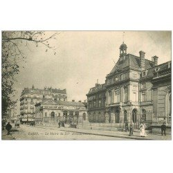 carte postale ancienne PARIS 15. La Mairie