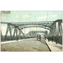 carte postale ancienne PARIS 15. Pont de Tolbiac 1907