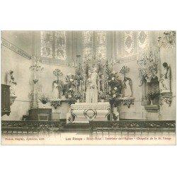 carte postale ancienne 10 LES RICEYS. Chapelle de la Sainte-Vierge Eglise de Ricey-Haute-Rive
