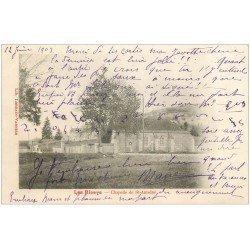 carte postale ancienne 10 LES RICEYS. Chapelle de Saint-Antoine 1903