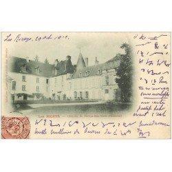 carte postale ancienne 10 LES RICEYS. Château de Ricey-Bas 1902