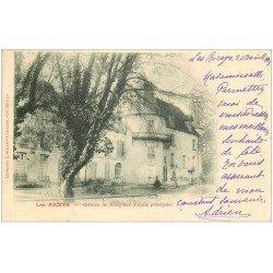 carte postale ancienne 10 LES RICEYS. Château de Ricey-Bas 1903