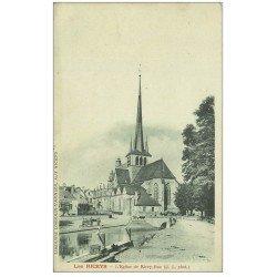 carte postale ancienne 10 LES RICEYS. Eglise de Ricey-Bas vers 1900