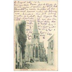 carte postale ancienne 10 LES RICEYS. Eglise de Ricey-Haute-Rive 1902